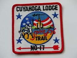 Cuyahoga Lodge 17 Ohio Spirit Of 76 Trail Order Of The Arrow Boy Scout Bsa Patch
