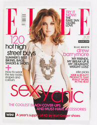 Drew Barrymore Hair And Beauty High Street Buys Uk Elle Fashion Magazine July 2007