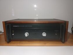 Crown Power Line Three / Pl-3 Amplifier With Wood Cabinet