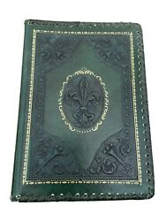 Rare Wonders Of Italy G. Fattorusso The Medici Art Series Leather Cover Boo 1974