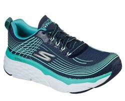 Skechers Womenand039s Max Cushion Elite Navy Turquoise