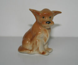 PORCELAIN Figurine DOG PUPPY Charley.Hand Painted