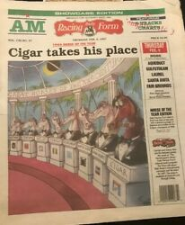 Horse Of The Year, '96, Drf Cigar