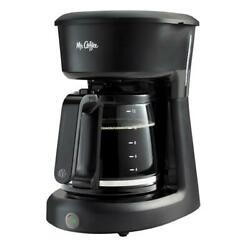 Coffee Maker 12 Cups Black Easy On/off Switch Auto Pause Home Kitchen Machine