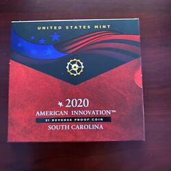 2020 South Carolina - American Innovation 1 Reverse Proof Coin 20gh