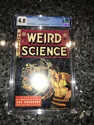 Weird Science 19 Cgc 4.0 Used In Seduction Of The Innocent