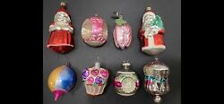 Rare Box Vintage Shapes Glass Christmas Ornaments. A Must Have