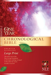 Tyndale House Publishers Cor-the One Year Chronological Bible Book New