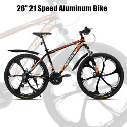 26 21 Speed Aluminum Suspension Bike Double Disc Brake Bicycle With Service Kit