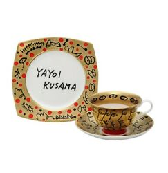 Kusama Yayoi Teaware Love Is Eternala Cup And A Saucer Limited To 500 Numbered