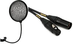 Neumann Ps 20 A Pop Screen + Mogami Gold Studio Microphone Cable - 10 Foot