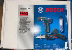 Bosch Tools Combo Kit 12v Max 3 Tool Set With 3 8 In Drill Driver Pocket Recipr