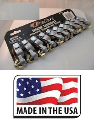 10 Marine Battery Winged Terminal Made In Usa Card Of Deka Oem Free Shipping