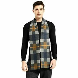 Fashion Mens Scarf Winter Cashmere Scarves Long Plain Formal Soft For At Store