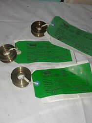 Boeing End Bearing Engine Ball Lot Of 3 Aircraft 69-35960-1 Airplane Brass 727