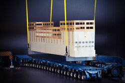 Bridge Section Load With Lifting Frame - Imc 150 Scale Model 33-0147 New