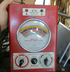 1940 Willard Automotive Electrical Check System For Pre War Cars Man Cave Shop