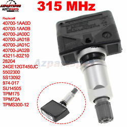 Tpms Tire Air Pressure Monitor System Sensor 40700-1aa0d For Nissan 315mhz New