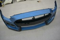 2019-2021 Ford Mustang Shelby Gt500 Front Bumper Cover Fascia Performance Blue