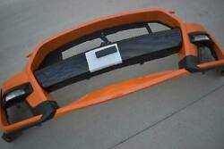 Oem 2019-2021 Ford Mustang Shelby Gt500 Front Bumper Cover Fascia Twister Orange