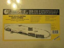 Rare Uncatalogued Sealed Lionel 11821 Sears Brand Central Zenith Express Set