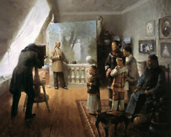 Mian Situ The Entrepreneur Limited Edition Canvas Historical East And West Art