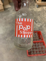 Pop Shoppe Bottles And Crates