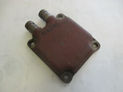 910280 Omc Stringer 120 Hp Manifold End Cap And Heat Exchanger 311550