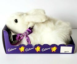 Vintage Cadburry Clucking Bunny Toy Squeeze My Paw Does Not Cluck When Paw Pres