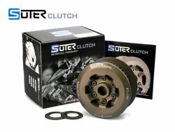 Anti Hopping Slippe Clutch Suter With Steel Inserts + Starter Ducati Desmosedici