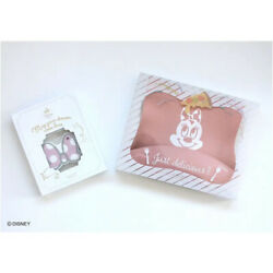 [ Disney ] Minnie Mouse Silicone Baby Bib And Teether Set 🎁❤️ Gift Waterproof