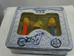 2006 Orange County Choppers Pez Set Of 3 In Tin Box New And Sealed