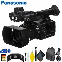 Panasonic Ag-ac30 Full Hd Camcorder +touch Panel Lcd Screen And Built-in Led Light