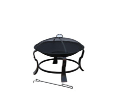 24 In. Ashmore Round Steel Fire Pit By Hampton Bay