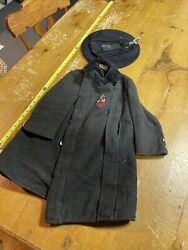 Vintage Early 1900s Boys Naval Themehat And Coat What A Gem From The Past.