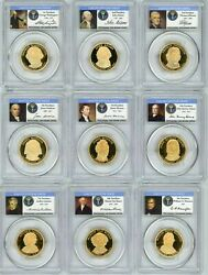 2007-2011-s Pcgs Presidential Limited Edition Signature Set 20 Coin Pr69dcam