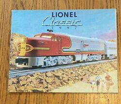 1997 Lionel Classic Model Trains Full Color Catalog 24 Pages