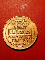 Token-readers Digest Rd-pd-65 Association Limited Good Condition