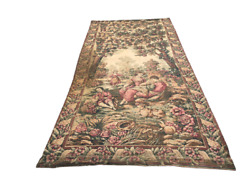 Pictorial Wall Hanging Tapestry Handmade Vintage Home Decor Tapestry