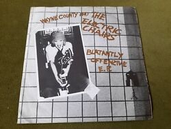 Wayne County/electric Chairs-blatantly Offenzive Ep 7safarigold Vinyl