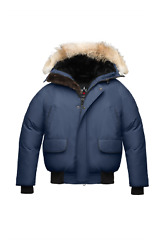 Arctic Bay Inuvik Bomber Big Coyoye And Beaver Fur Made Canada Size Xl Msrp1295