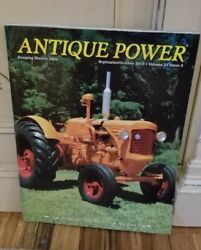 Antique Power The Tractor Collectorand039s Magazine May/june And Sept/oct 2010