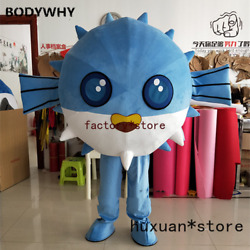 2020 Fish Mascot Costume Suit Cosplay Party Game Dress Outfit Carnival Halloween