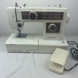 Dressmaker Sewing Machine 6102fa With Foot Pedal