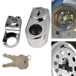 Spare Tire Nut Lock Trailer Side Mount Holder Rv Carrier Tires Attachment