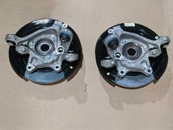 13-16 Cadillac Ats Rear Suspension Knuckle Rotor Wheel Bearing Right And Left Side