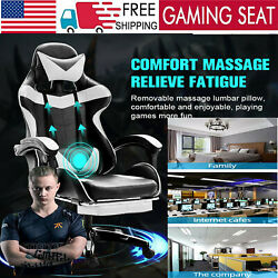 360anddeg Swivel Gaming Chair Office Leather Ergonomic Executive Desk Computer Chair