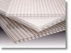 Lexan Thermoclear Sheet .250x6x36 White 5 Pcs Double Wall Polycarbonate Fluted