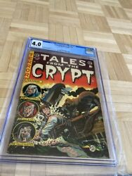 Tales From The Crypt 45 Cgc 4.0 Off-white To White Pages Jack Davis Cover