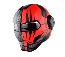 Ironman Robot Full Face Helmets Motorcycle Bike Travel Dot Approved Best Quality